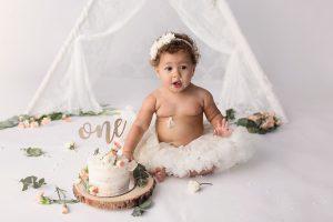 Cake smash photos